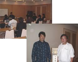 出村氏とのジョイント集客セミナーを  ウェルシティーで開催。